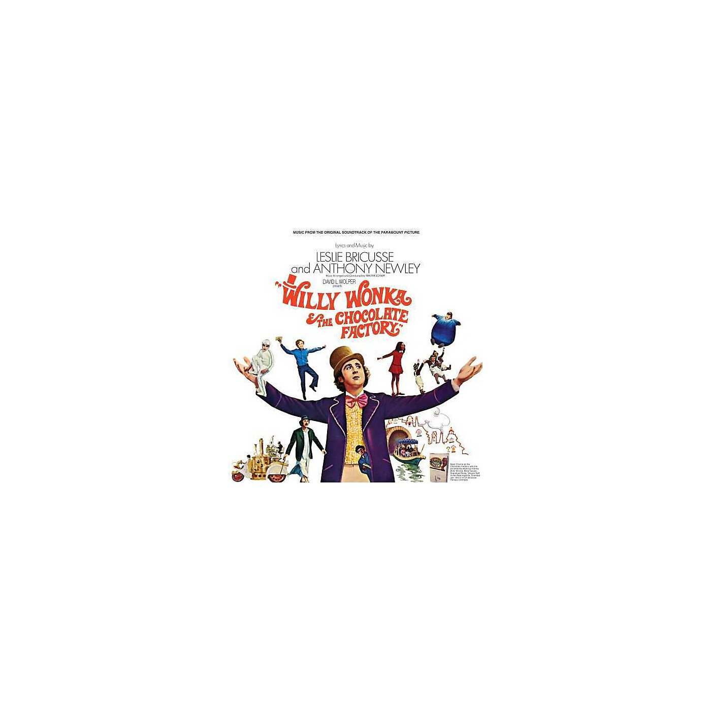 Alliance Soundtrack - Willy Wonka & The Chocolate Factory (Original Soundtrack) thumbnail