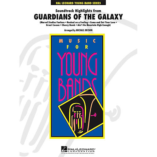 Hal Leonard Soundtrack Highlights from Guardians of the Galaxy - Young Concert Band Level 3 thumbnail