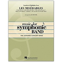 Hal Leonard Soundtrack Highlights from Les Miserables concert band level 4
