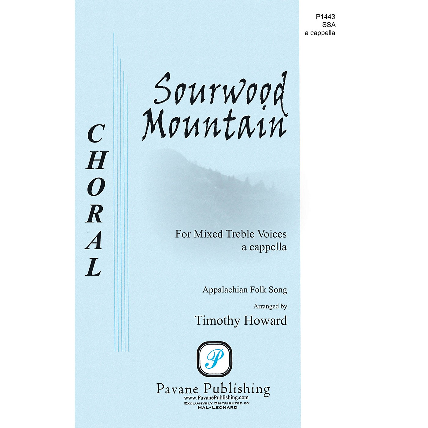 Pavane Sourwood Mountain SSA A Cappella arranged by Timothy Howard thumbnail