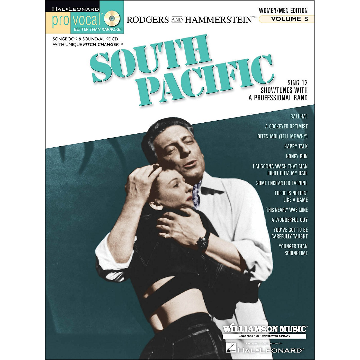 Hal Leonard South Pacific - Pro Vocal Songbook & CD for Women/Men Volume 5 thumbnail