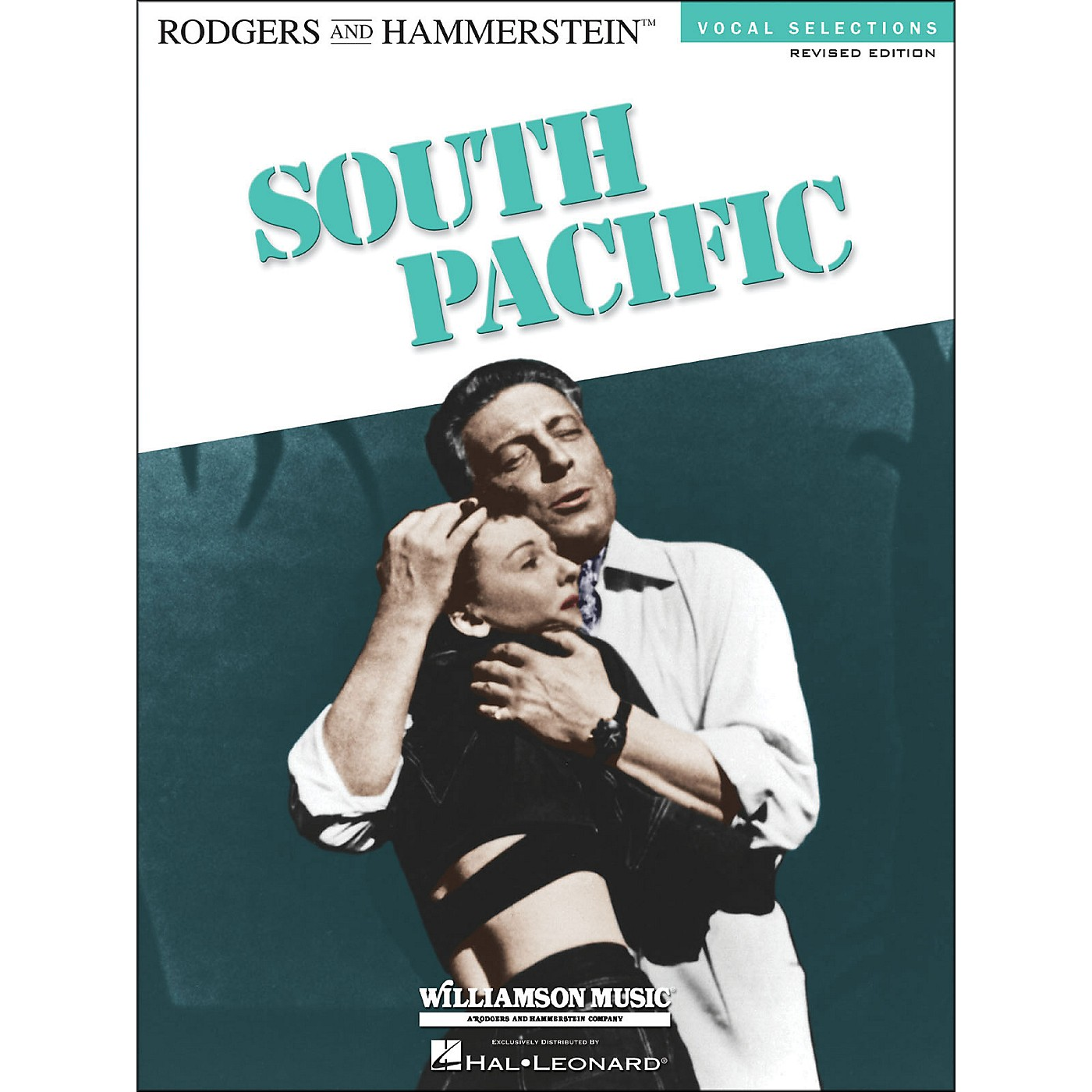 Hal Leonard South Pacific Vocal Selection arranged for piano, vocal, and guitar (P/V/G) thumbnail