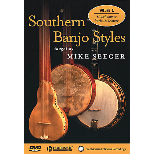 Homespun Southern Banjo Styles (DVD One) Homespun Tapes Series Performed by Mike Seeger thumbnail