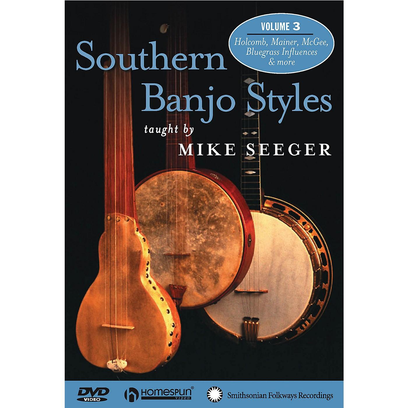 Homespun Southern Banjo Styles (DVD Three) DVD/Instructional/Folk Instrmt Series DVD thumbnail