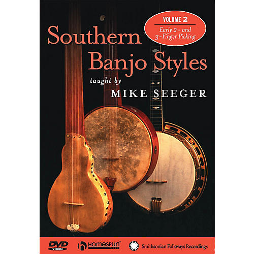 Homespun Southern Banjo Styles (DVD Two) DVD/Instructional/Folk Instrmt Series DVD thumbnail