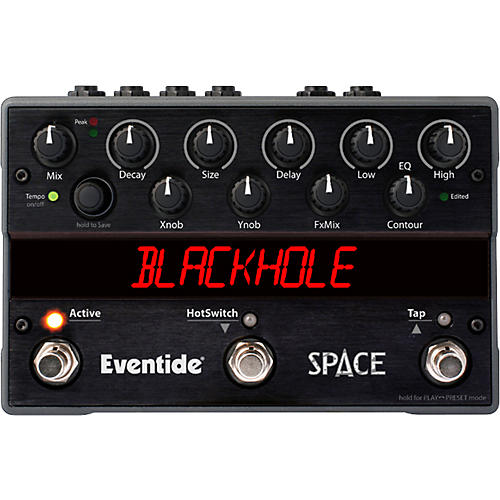 Eventide Space Reverb Guitar Effects Pedal thumbnail