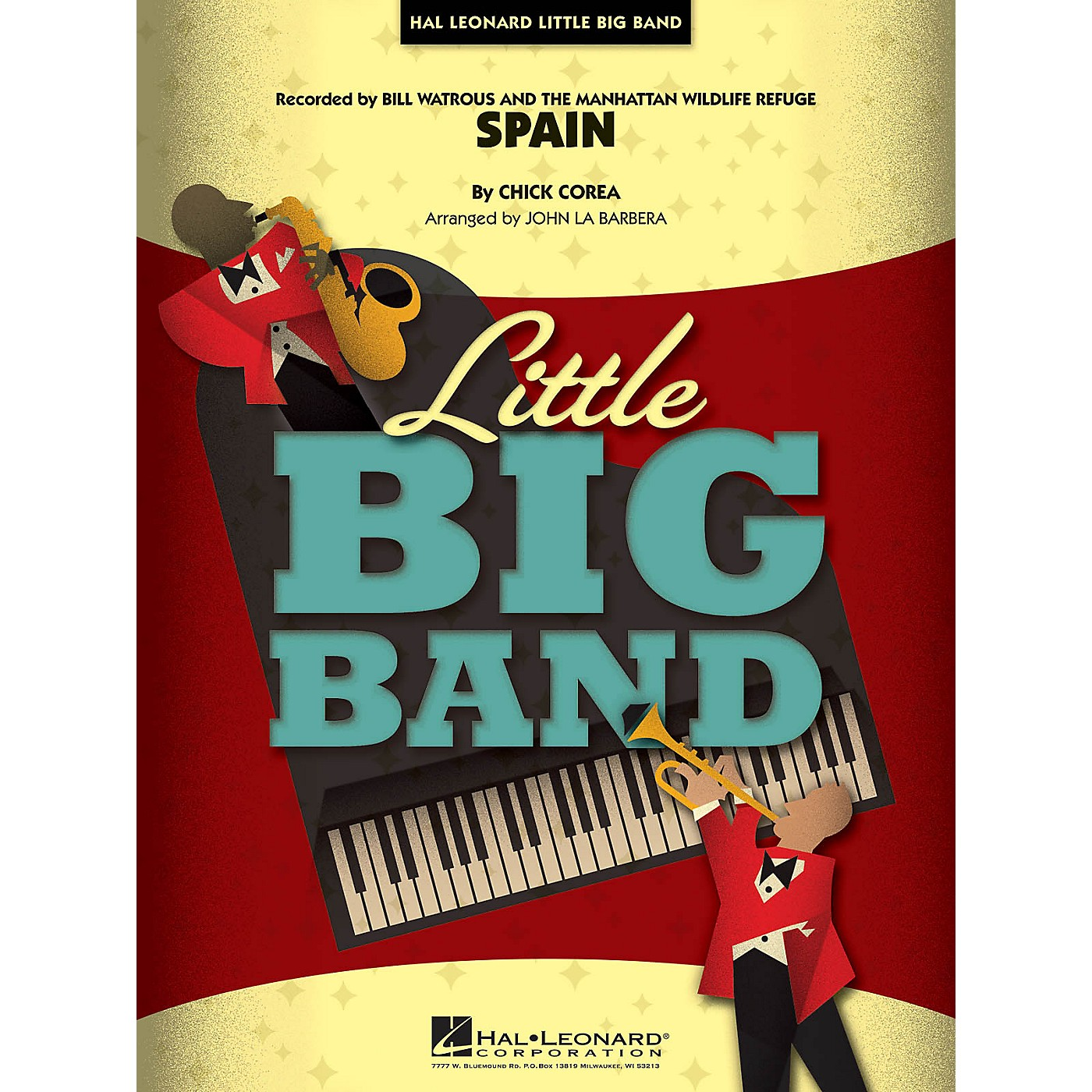 Hal Leonard Spain Jazz Band Level 4 Arranged by John La Barbera thumbnail