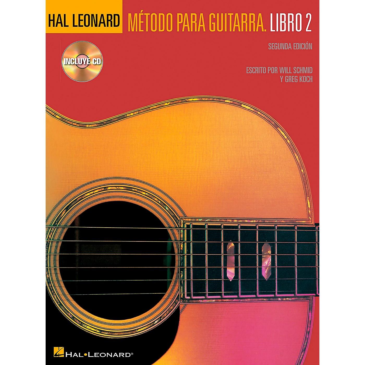 Hal Leonard Spanish Book 2 Book/CD Second Edition Hal Leonard Guitar Method thumbnail