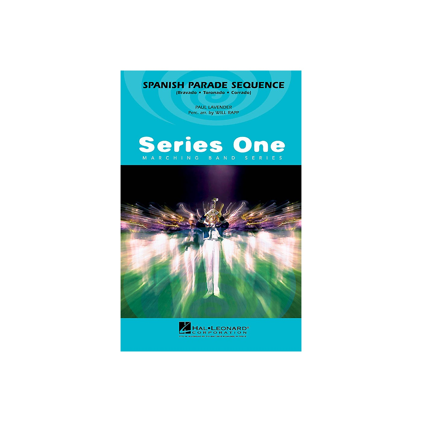 Hal Leonard Spanish Parade Sequence Marching Band Level 2 Arranged by Paul Lavender thumbnail