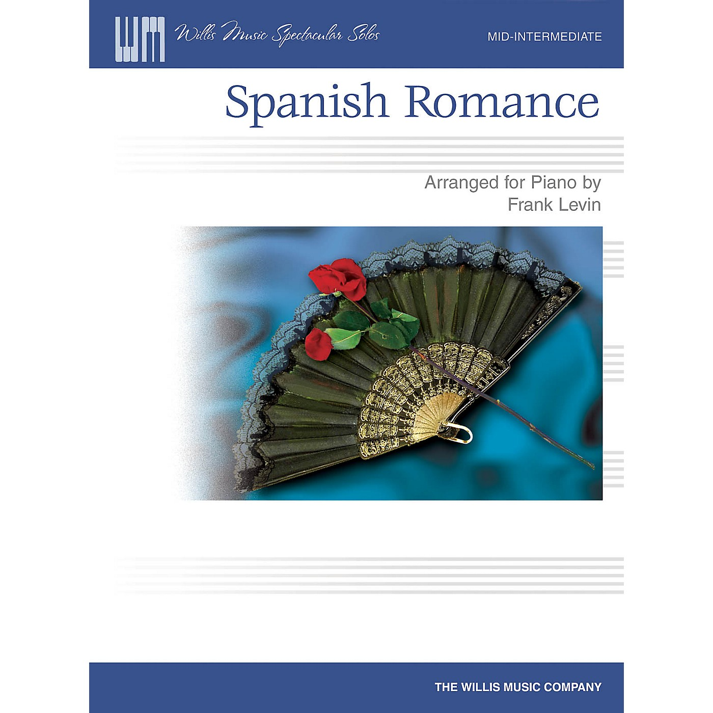 Willis Music Spanish Romance (Mid-Inter Level) Willis Series by Traditional thumbnail