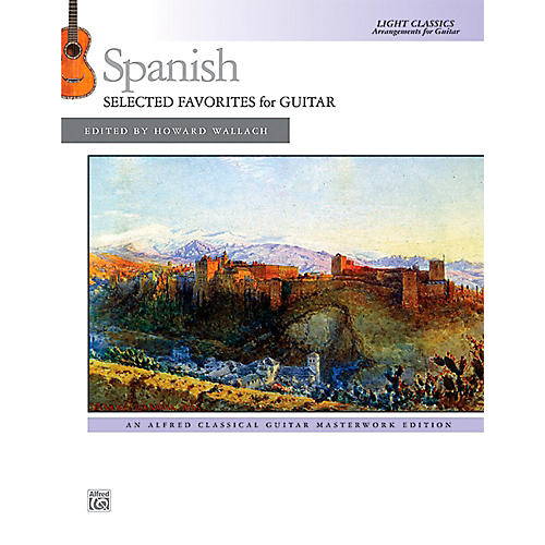 Alfred Spanish: Selected Favorites for Guitar - Book Intermediate thumbnail