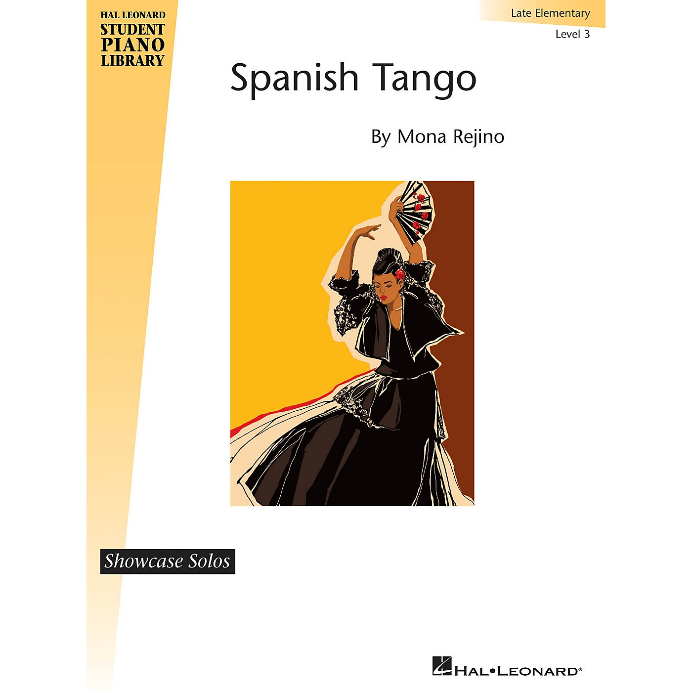 Hal Leonard Spanish Tango Piano Library Series by Mona Rejino (Level Late Elem) thumbnail