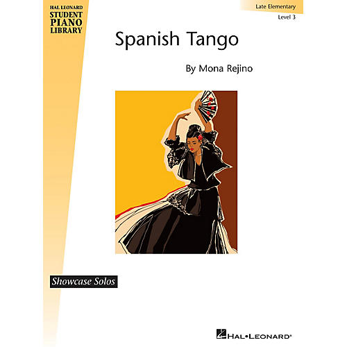Hal Leonard Spanish Tango Piano Library Series by Mona Rejino (Level Late Elem) thumbnail