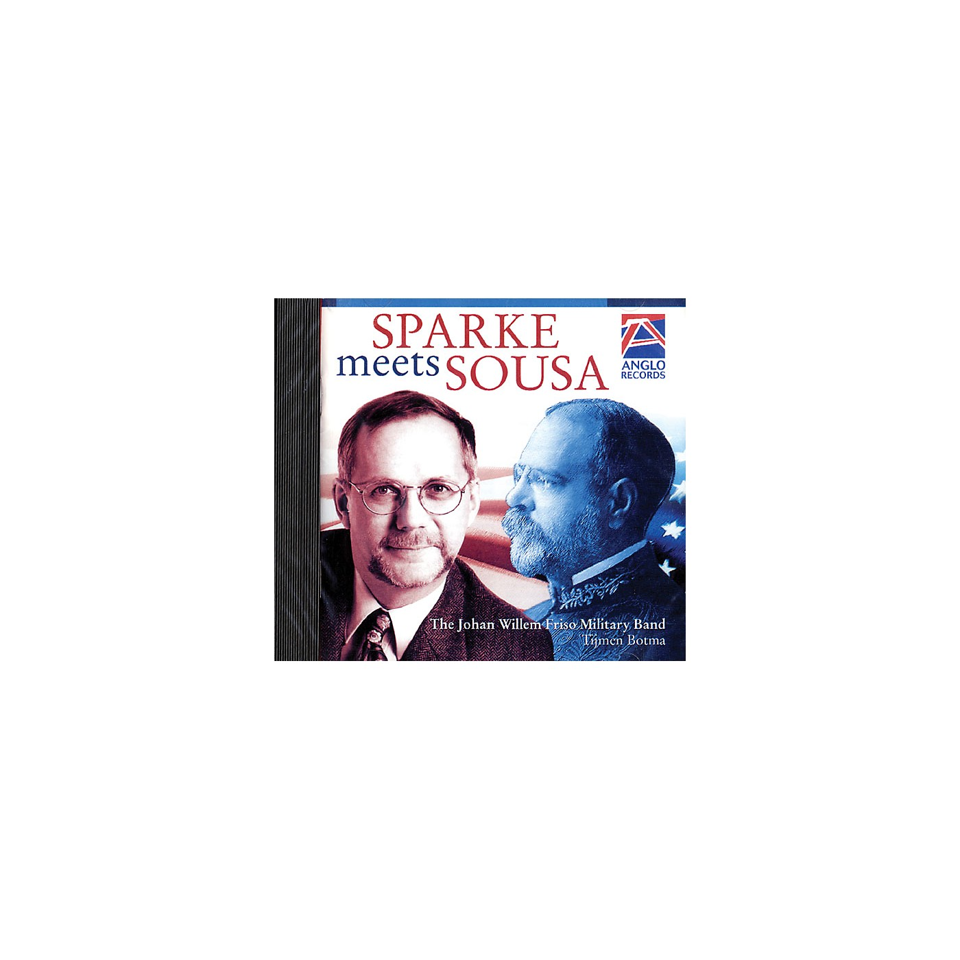 Anglo Music Press Sparke Meets Sousa (Anglo Music Press CD) Concert Band Arranged by Philip Sparke thumbnail