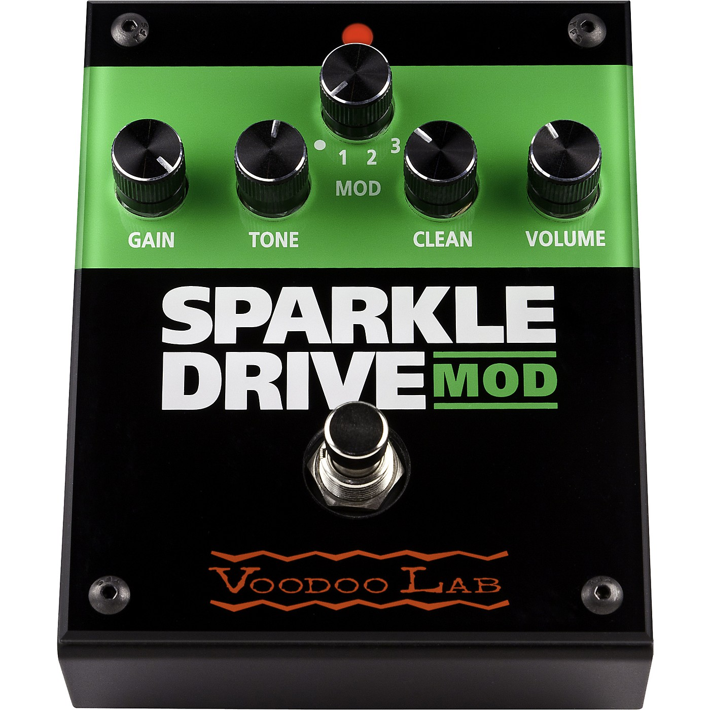 Voodoo Lab Sparkle Drive MOD Overdrive Guitar Effects Pedal thumbnail