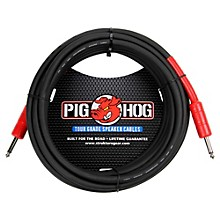 Pig Hog Speaker Cable 14 Gauge Wire 1/4 in. to 1/4 in.