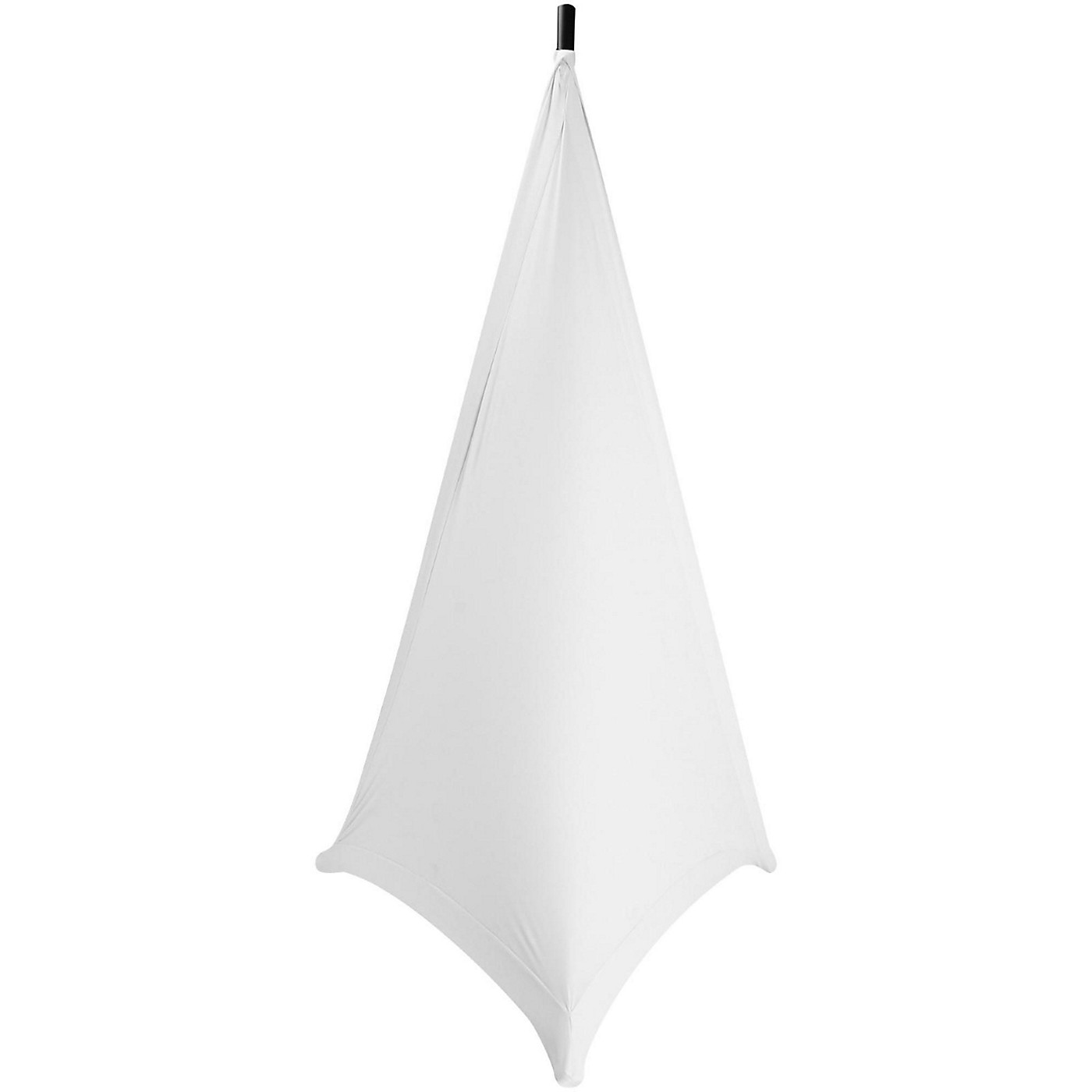 On-Stage Speaker/Lighting Stand Skirt, White thumbnail