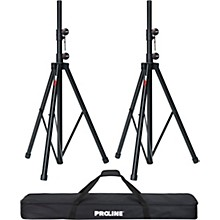 Proline Speaker Stand 2-Pack with Carrying Bag