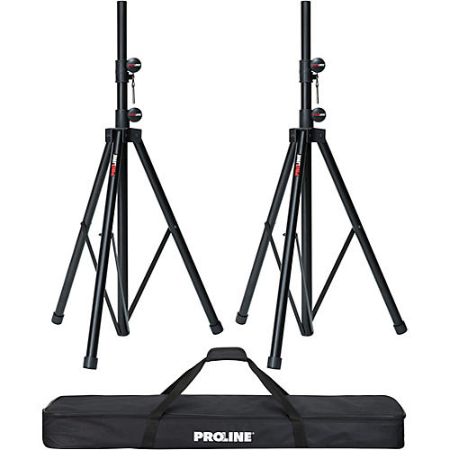 Proline Speaker Stand 2-Pack with Carrying Bag thumbnail