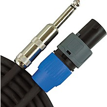 "Musician's Gear Speakon to 1/4"" Speaker Cable - 14-Gauge"