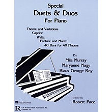 Lee Roberts Special Duets and Duos Pace Piano Education Series Written by Mila Murray
