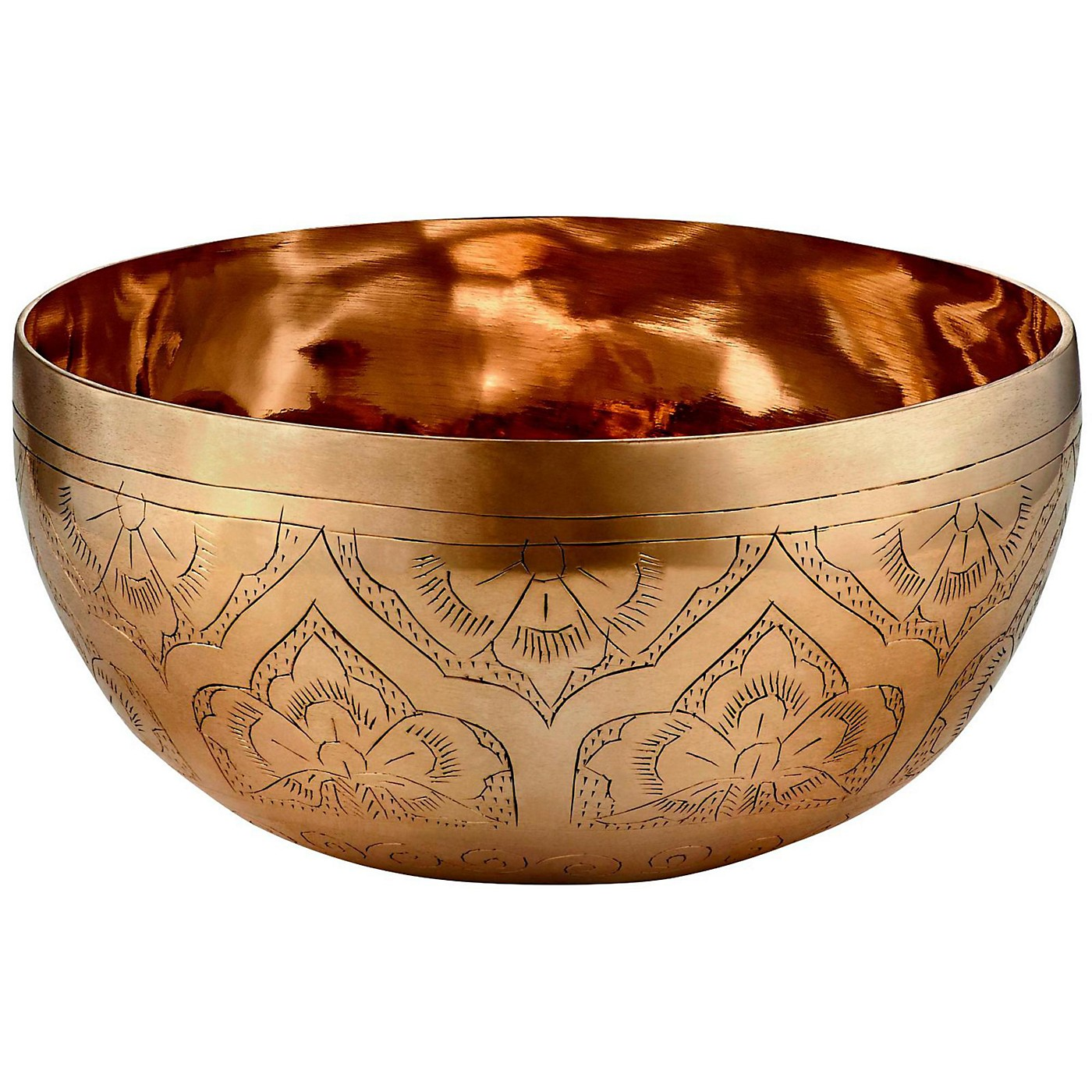 MEINL Special Engraved Singing Bowl, 5.4 - 5.7in / 13.6 - 14.6 cm thumbnail