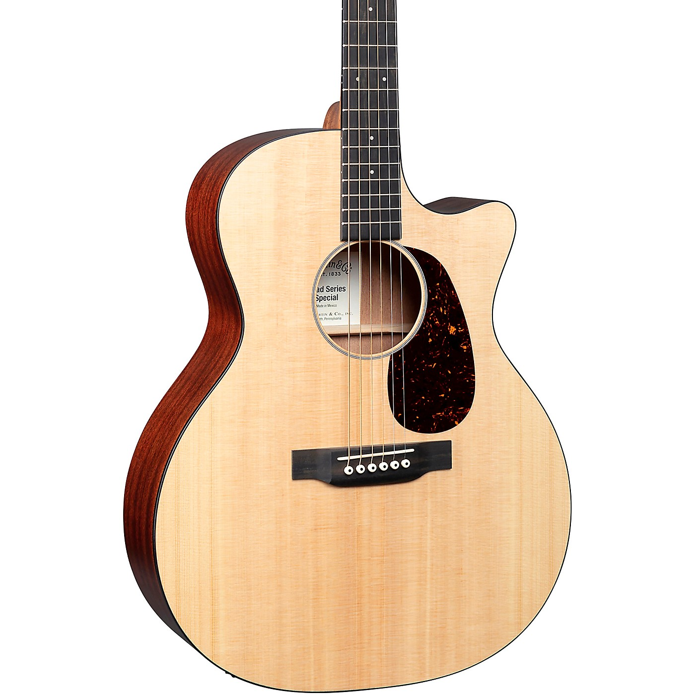 Martin Special GPC All-Solid Grand Performance Acoustic-Electric Guitar thumbnail