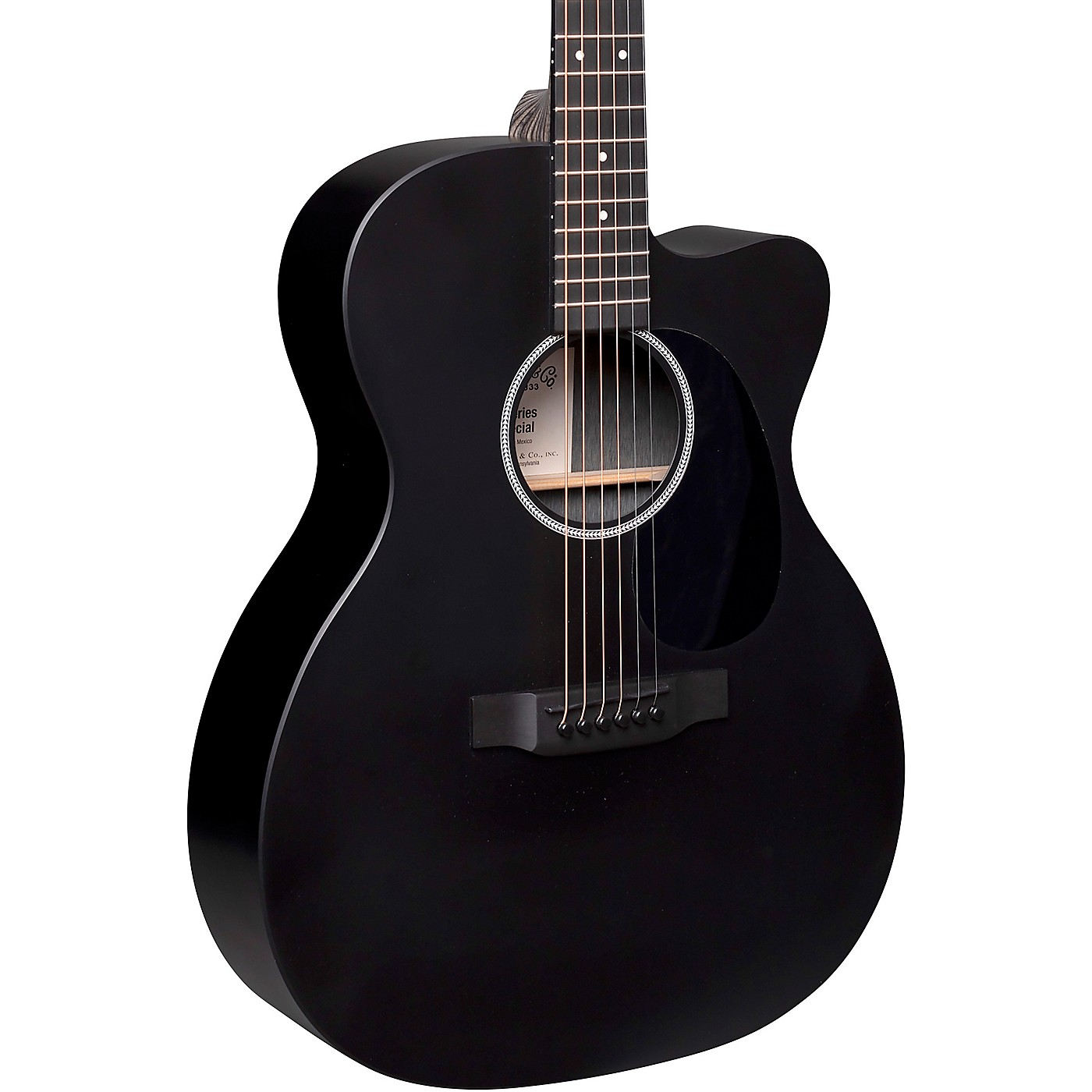 Martin Special X Series Style 000 - Cutaway Sized Acoustic-Electric Guitar thumbnail
