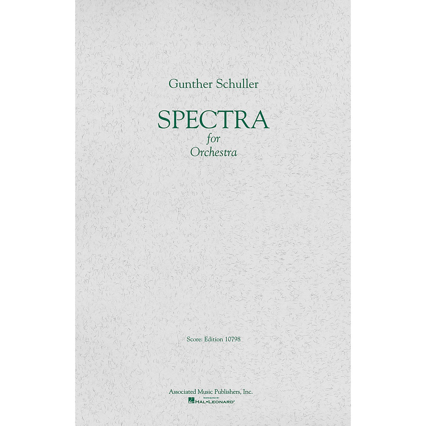 Associated Spectra (1958) (Full Score) Study Score Series Composed by Gunther Schuller thumbnail