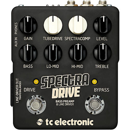 TC Electronic SpectraDrive Bass Preamp Effects Pedal thumbnail