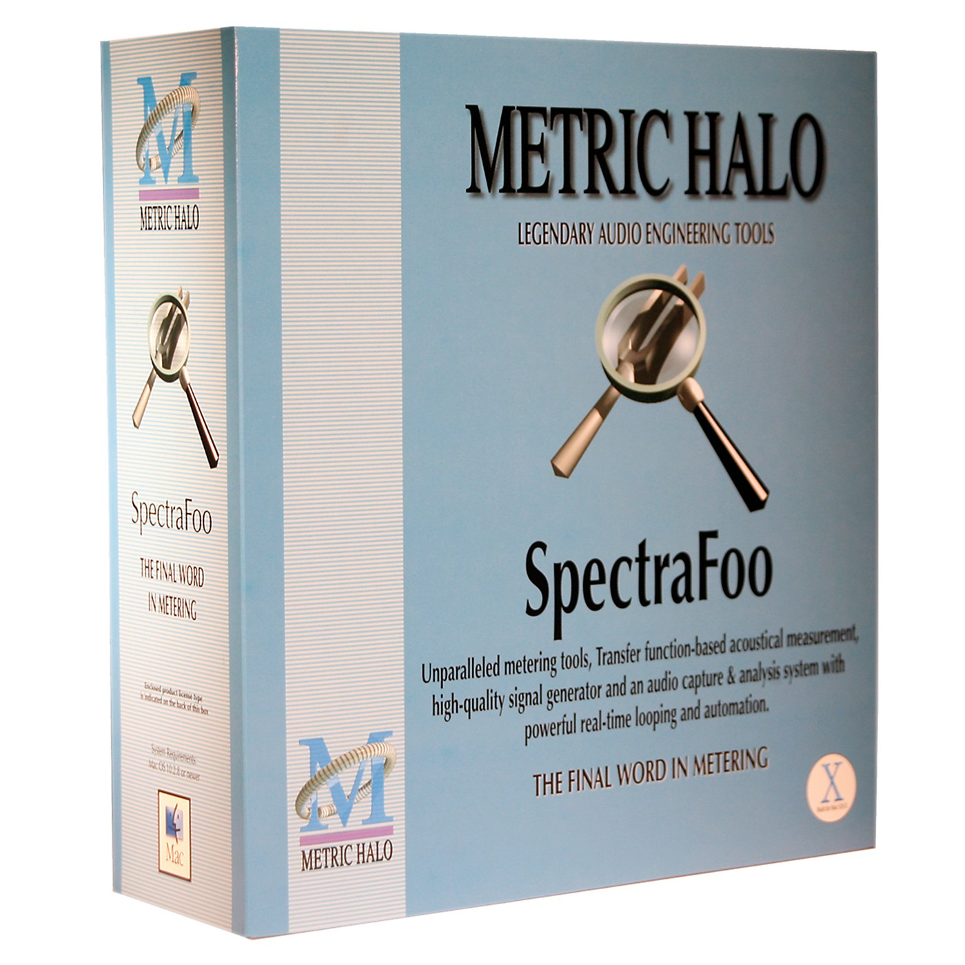 METRIC HALO SpectraFoo Complete OSX Standalone thumbnail
