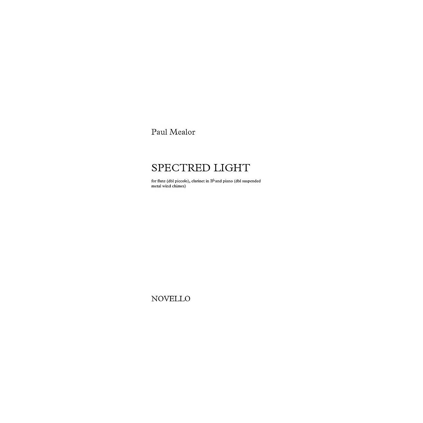 Novello Spectred Light Music Sales America Series Softcover Composed by Paul Mealor thumbnail