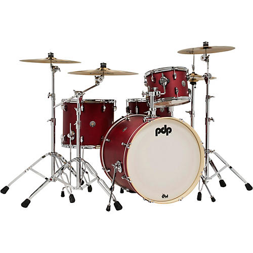 PDP by DW Spectrum Series 4-Piece Shell Pack with 22 in. Bass Drum thumbnail