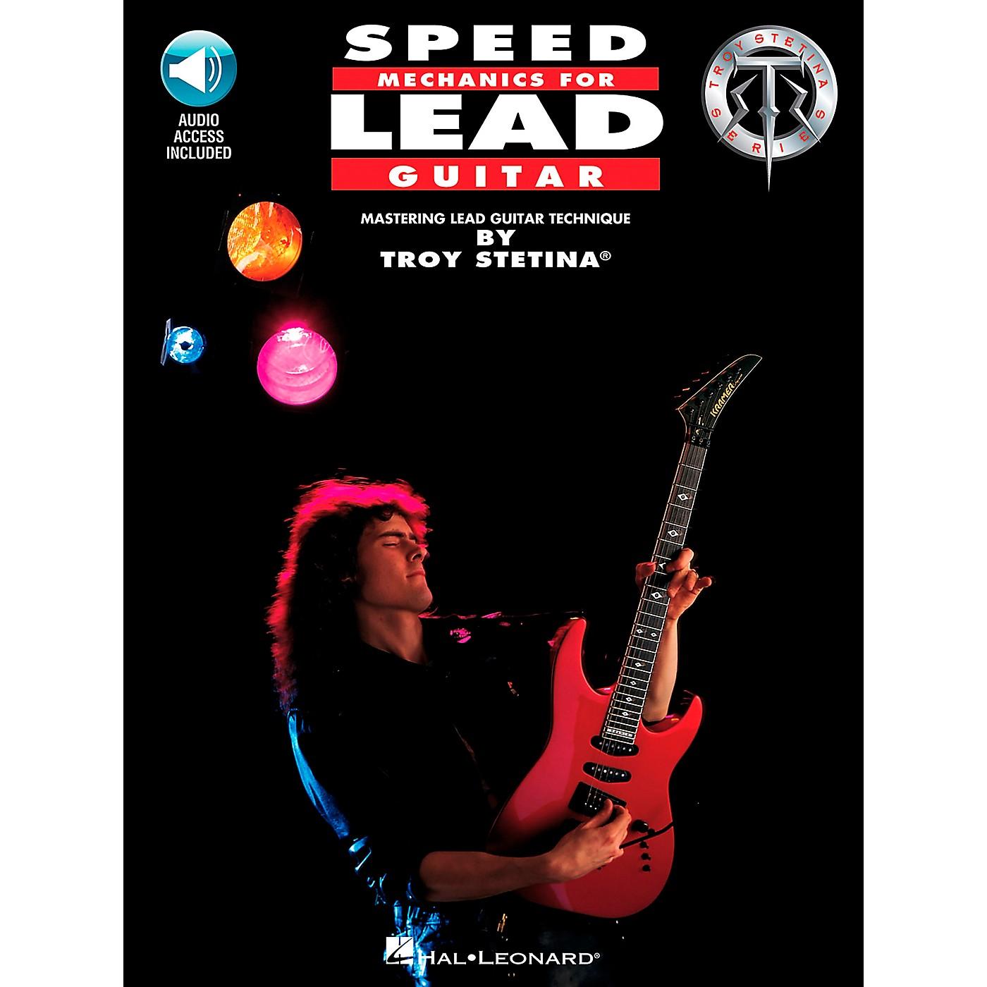 Hal Leonard Speed Mechanics for Lead Guitar Book/CD thumbnail