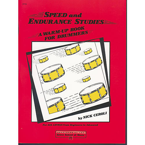 Alfred Speed and Endurance Studies Warm Up Book for Drummers thumbnail