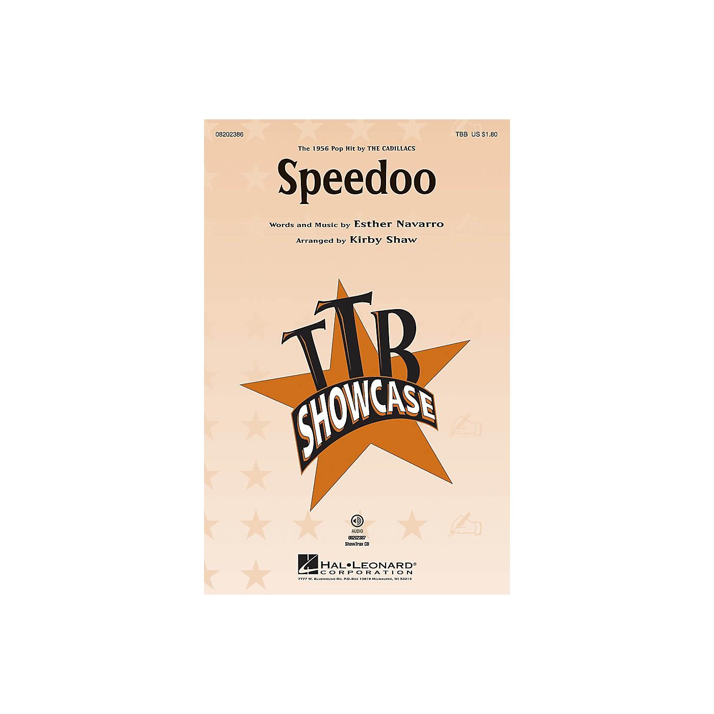 Hal Leonard Speedoo TBB by The Cadillacs arranged by Kirby Shaw thumbnail