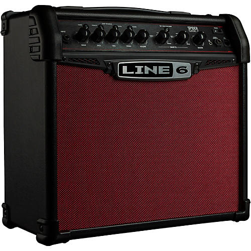 Line 6 Spider Classic 15 15W 1x8 Guitar Combo Amp Red Edition thumbnail