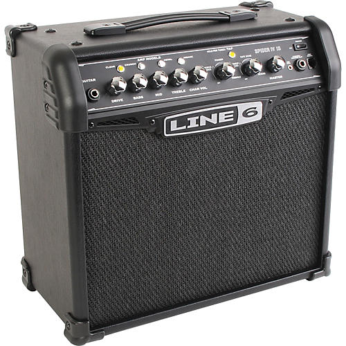 Line 6 Spider IV 15 15W 1x8 Guitar Combo Amp thumbnail