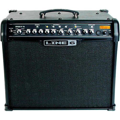 Line 6 Spider IV 75 75W 1x12 Guitar Combo Amp thumbnail