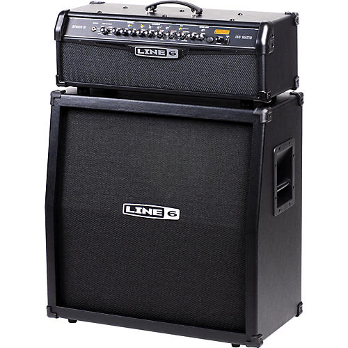 Line 6 Spider IV HD150 150W and 4x12 Guitar Half Stack-thumbnail