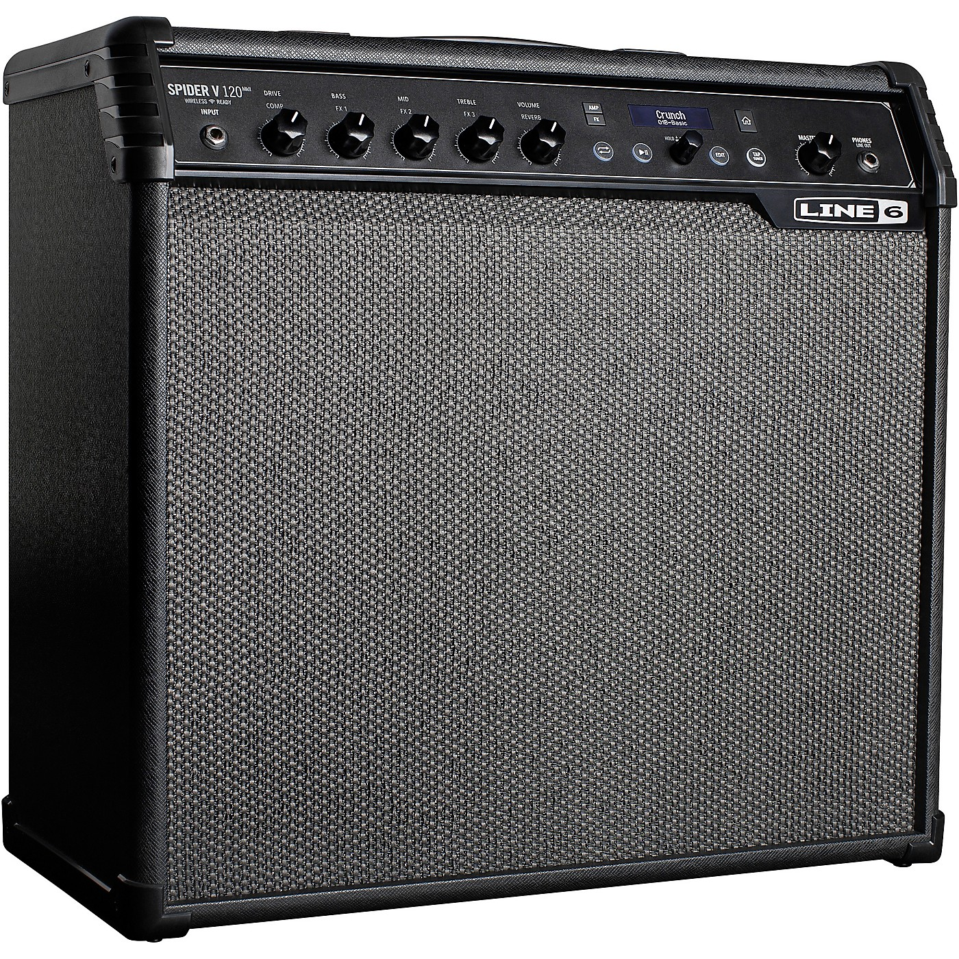 Line 6 Spider V 120 MKII 120W 1x12 Guitar Combo Amp thumbnail