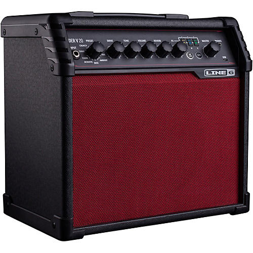 Line 6 Spider V 20 Red Edition 20W 1x8 Guitar Combo Amp thumbnail