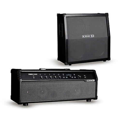 Line 6 Spider V 240HC 240W Head and 412 320W 4x12 Guitar Speaker Cabinet thumbnail