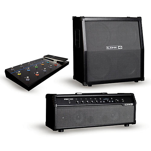 Line 6 Spider V 240HC 240W Head and 412 320W 4x12 Speaker Cabinet with FBV 3 Footswitch thumbnail