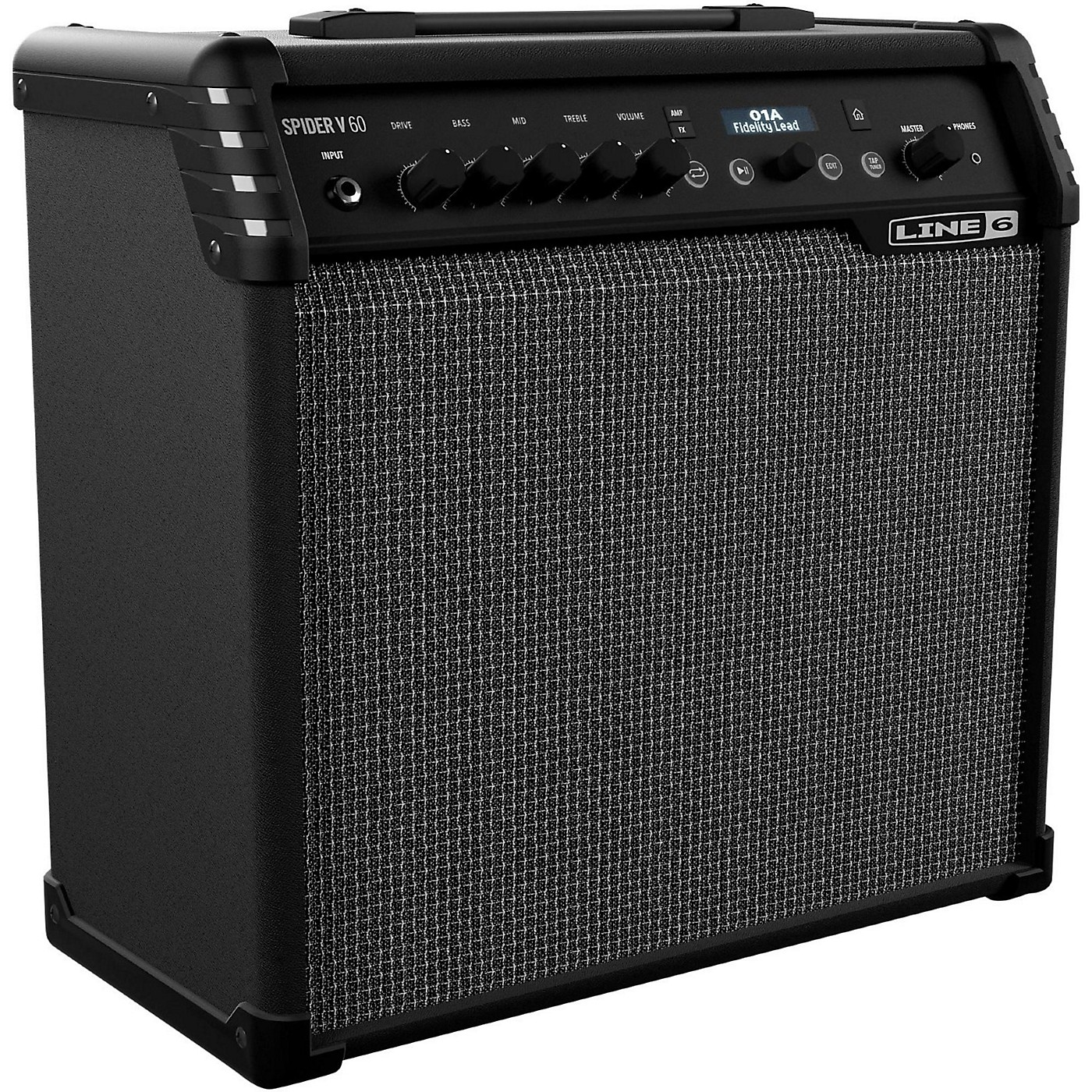 Line 6 Spider V 60 60W 1x10 Guitar Combo Amp thumbnail
