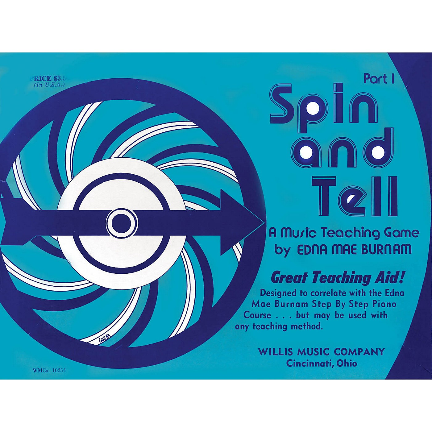 Willis Music Spin and Tell - Game 1 (A Music Teaching Game/Early Elem Level) Willis Series by Edna Mae Burnam thumbnail