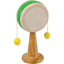 Green Tones Spinning Drum