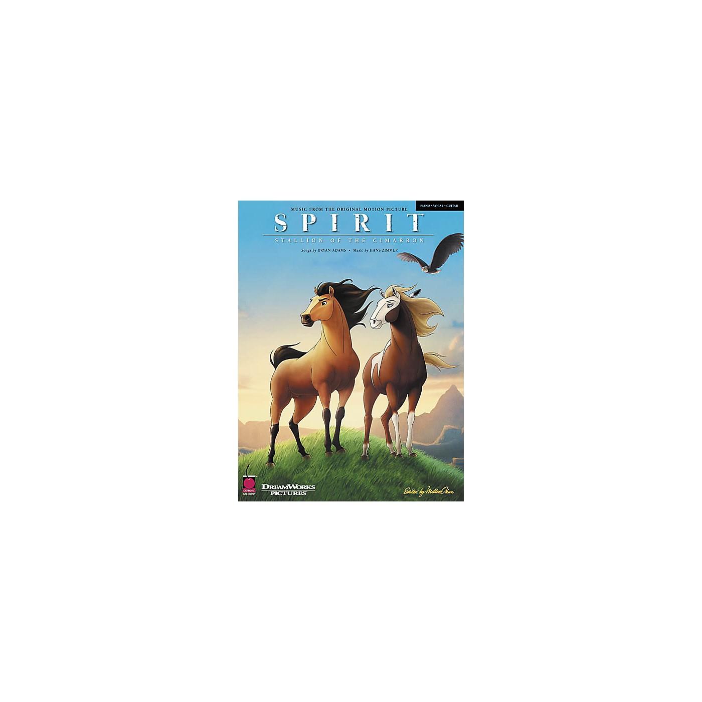 Cherry Lane Spirit - Stallion of the Cimarron Piano/Vocal/Guitar Artist Songbook thumbnail