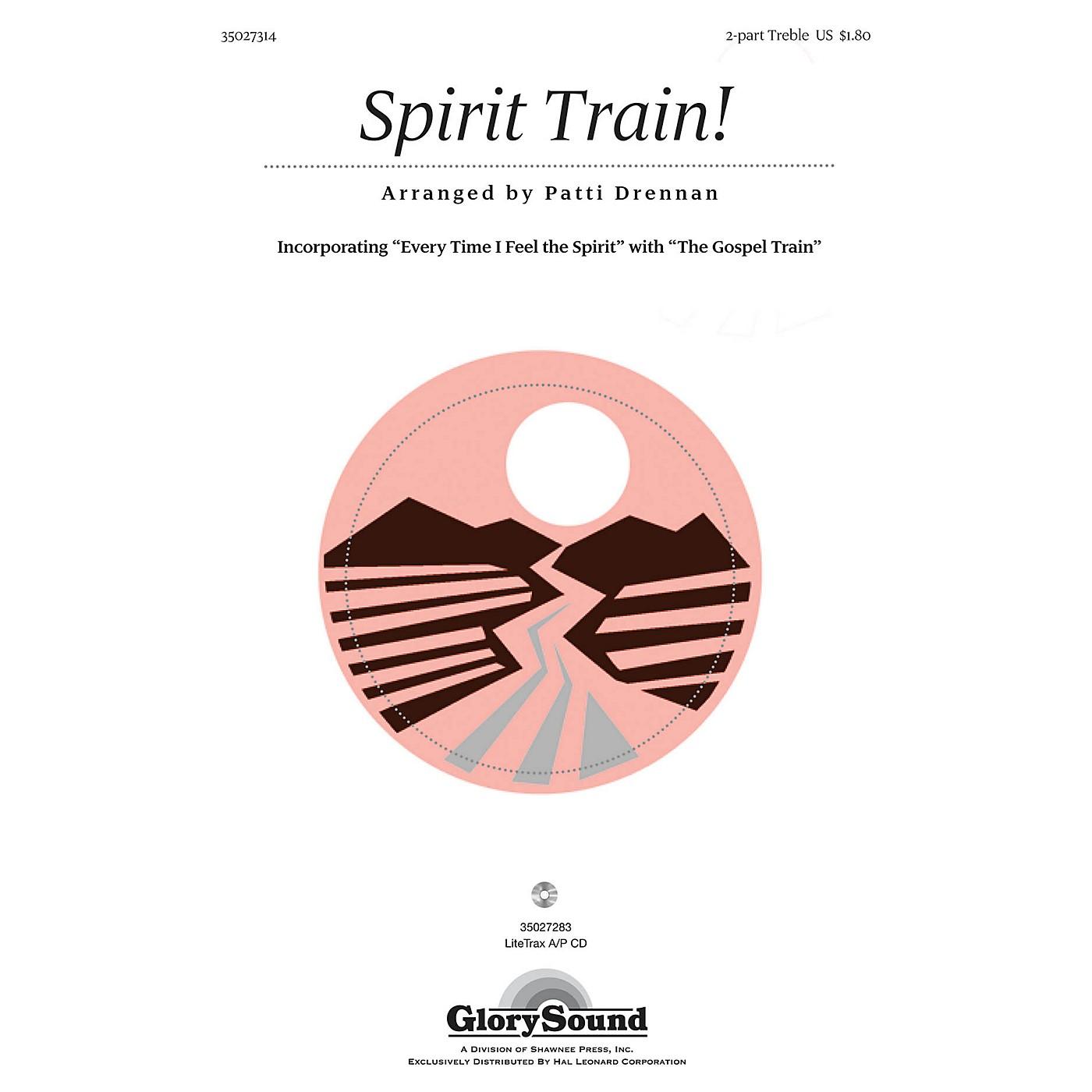 Shawnee Press Spirit Train! 2PT TREBLE composed by Patti Drennan thumbnail