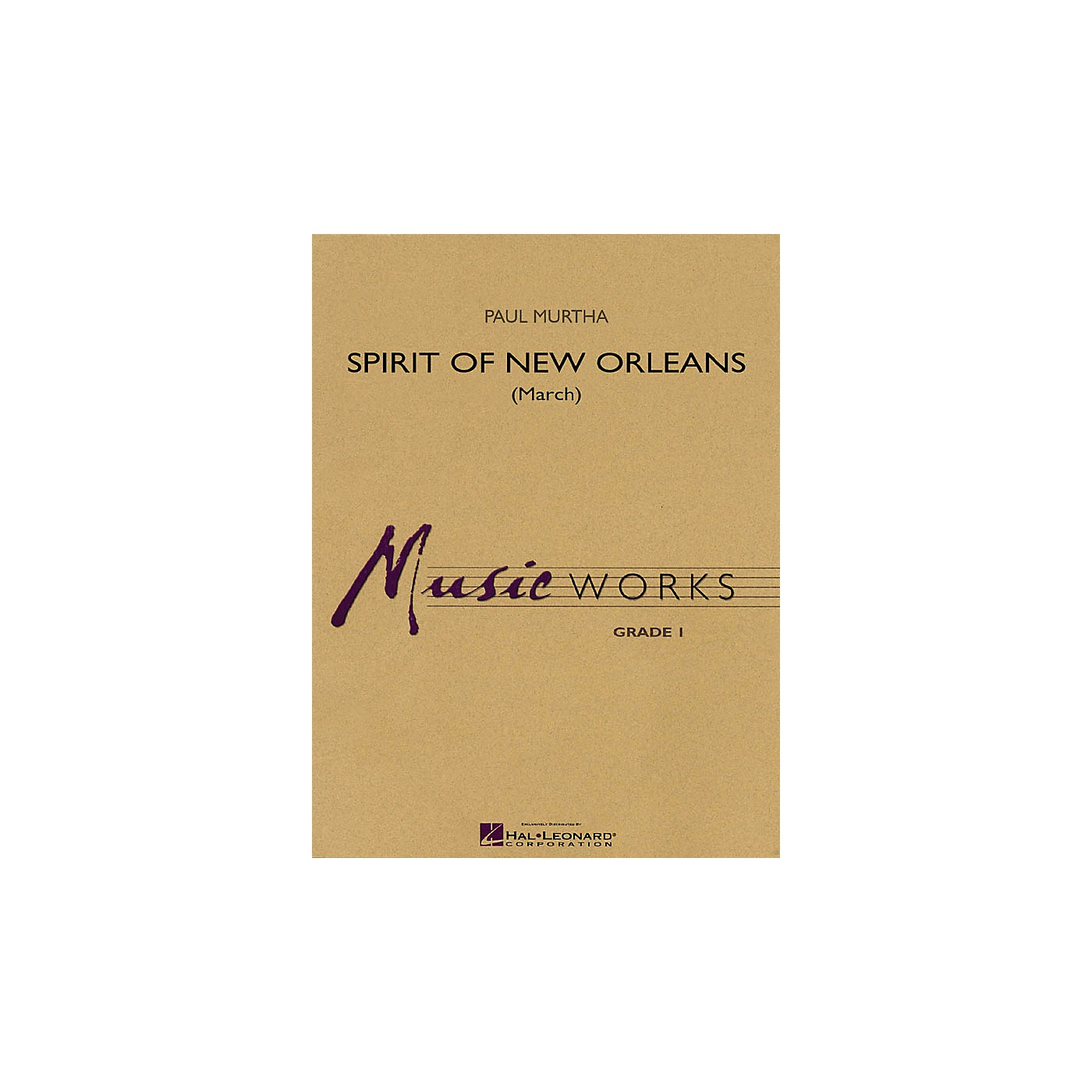 Hal Leonard Spirit of New Orleans (March) Concert Band Level 1.5 Composed by Paul Murtha thumbnail
